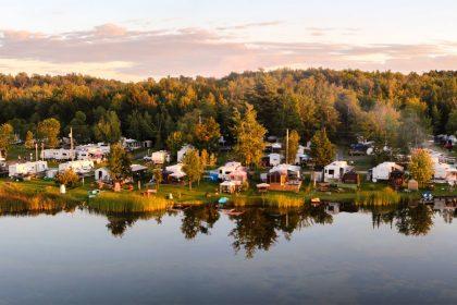 Camping Vallée Bleue
