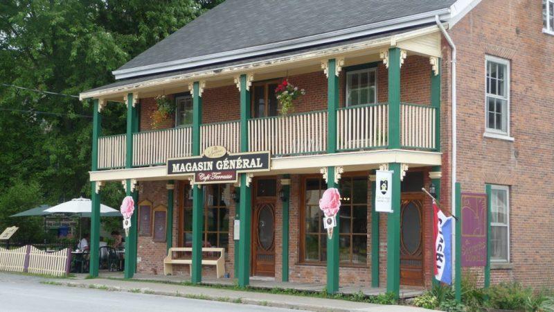 Les Sucreries de l'Érable, Café Resto Frelighsburg