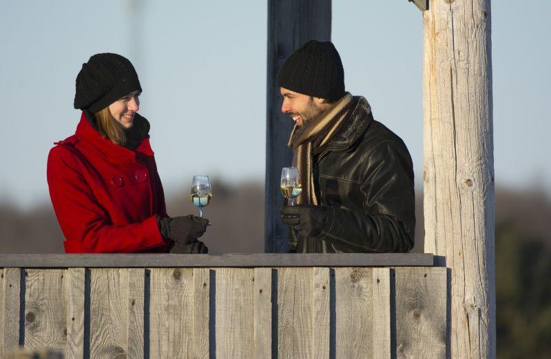 Couple sur La Route des vins