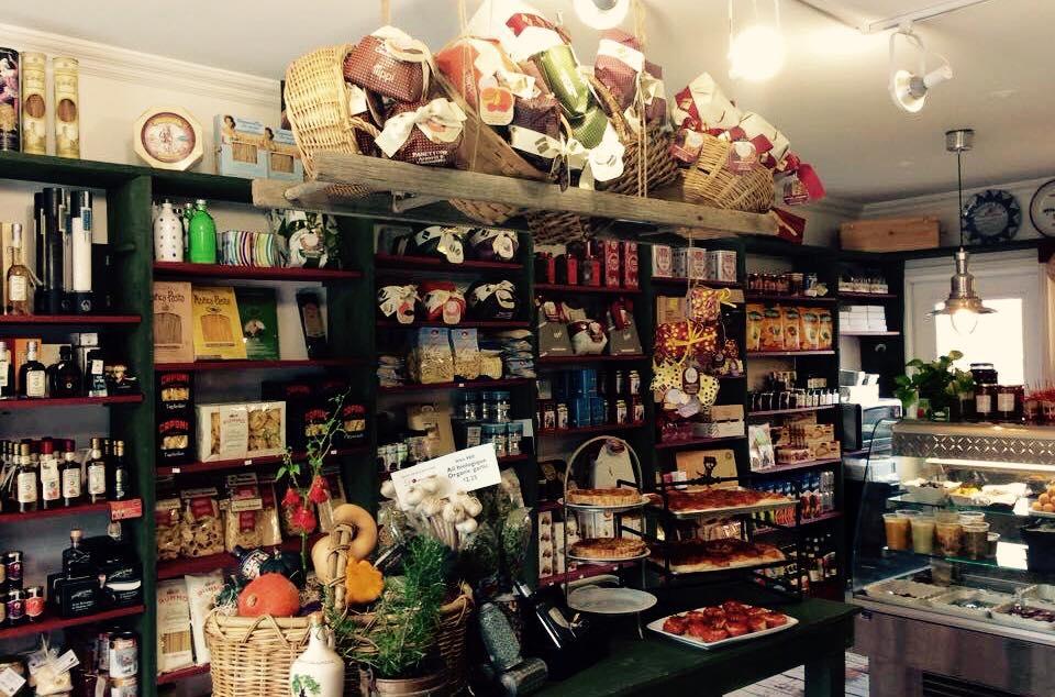 Intérieur de la boutique Domenica à Knowlton