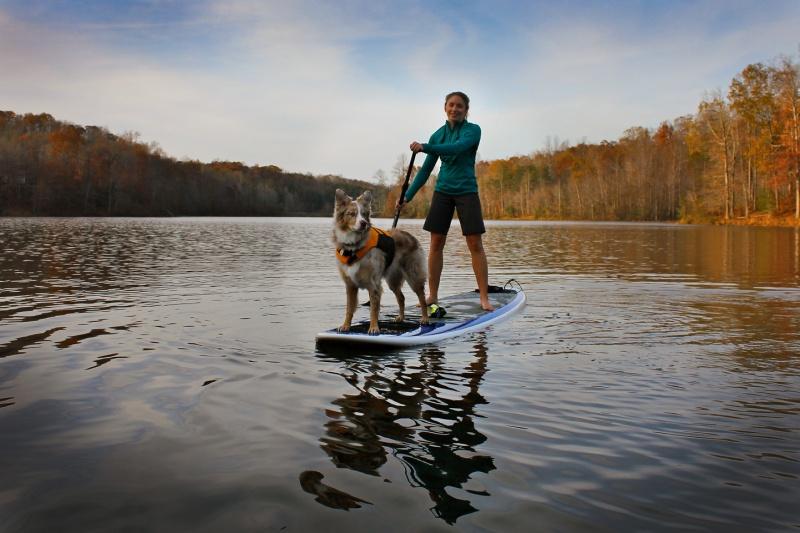 Stand up paddle sur la rivière Missisquoi