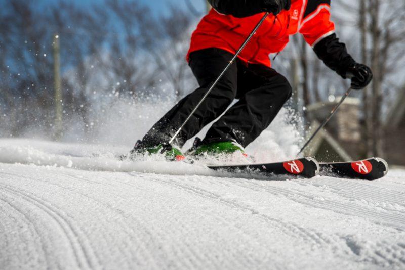 Mesures sanitaires pour les skieurs