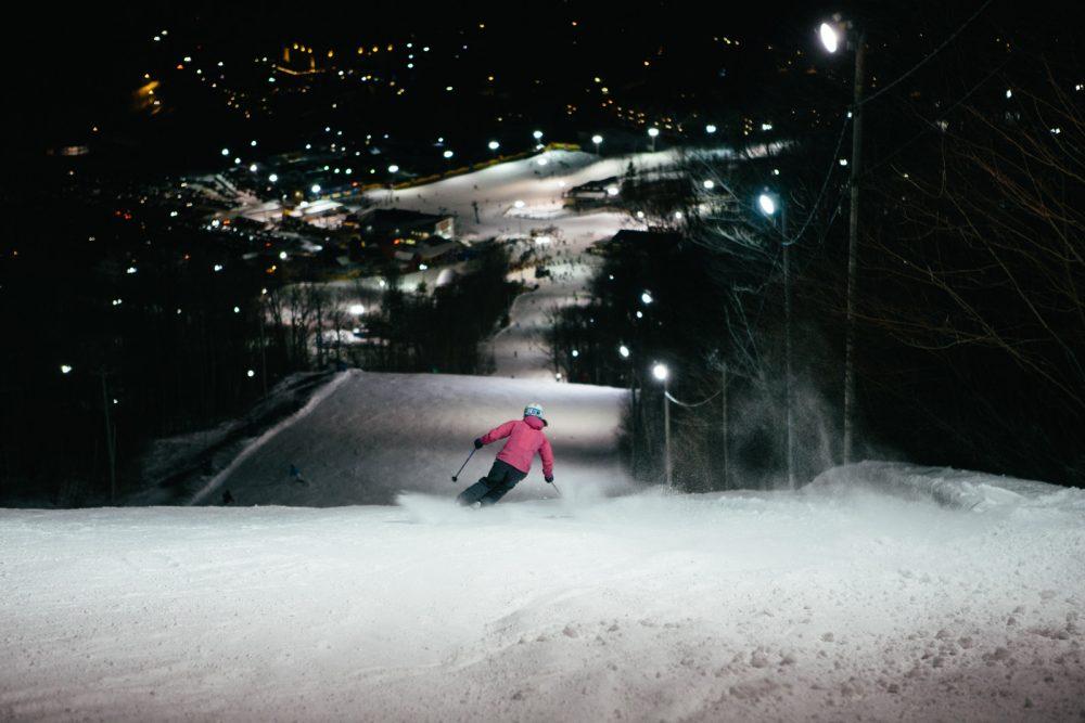 Ski_Bromont - ski_soir_1